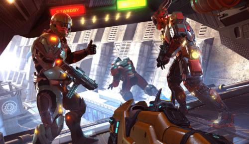 Скриншот для Shadowgun legends - 1