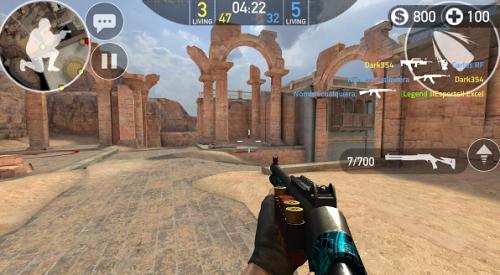 Скриншот для Forward assault - 3