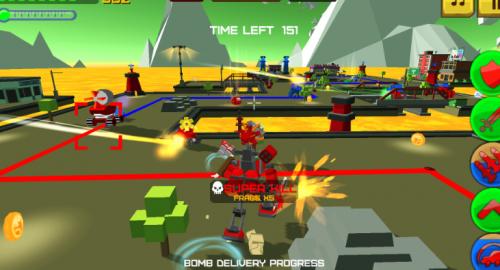Скриншот для Armored squad: mechs vs robots - 1