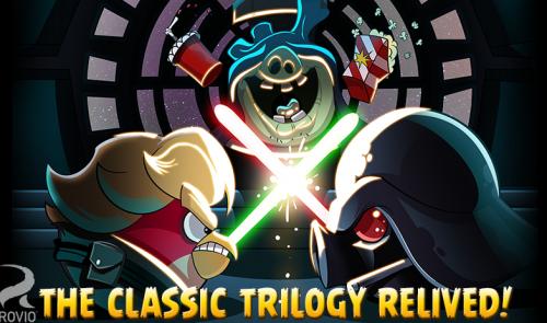 Скриншот для Angry Birds Star Wars - 2