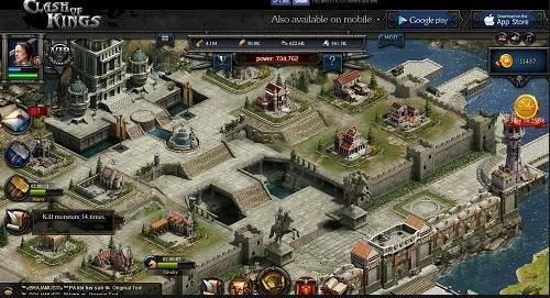 Скриншот для Clash of Kings - 2