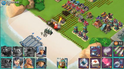 Скриншот для Boom Beach - 1