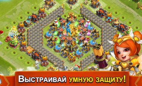 Скриншот для Битва Замков – Castle Clash - 3