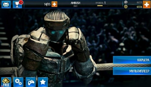 Скриншот для Real Steel World Robot Boxing - 3
