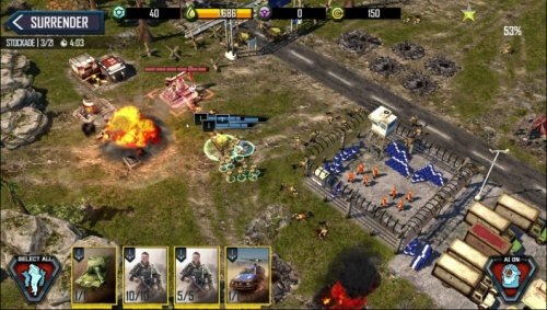 Скриншот для War Commander: Rogue Assault - 1