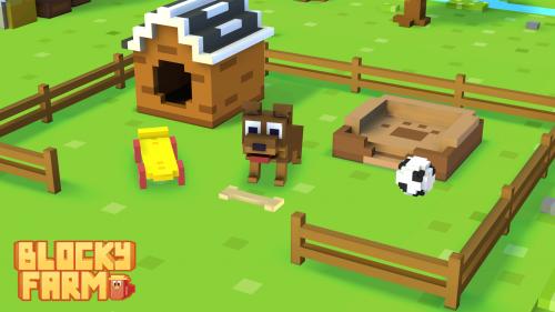 Скриншот для Blocky Farm - 2