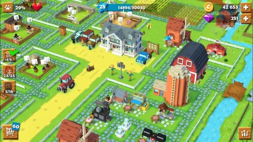 Скриншот для Blocky Farm - 1