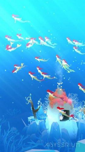 Скриншот для Tap Tap Fish - AbyssRium - 2