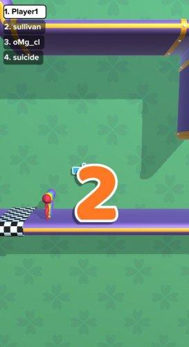 Скриншот для Run Race 3D - 3
