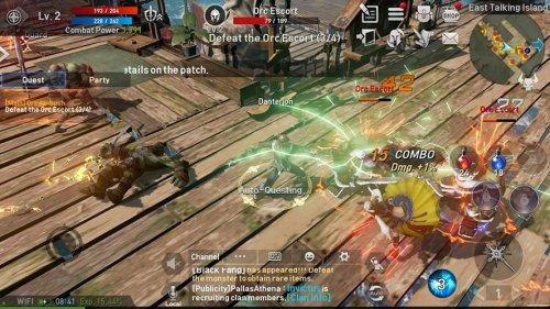 Скриншот для Lineage II Revolution - 2