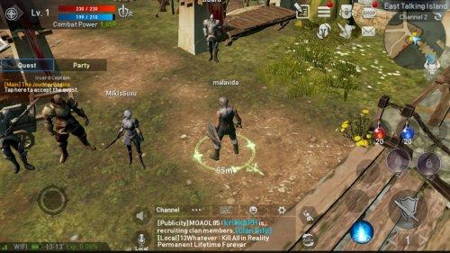 Скриншот для Lineage II Revolution - 1
