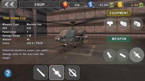 Скриншот для ВЕРТОЛЕТ БИТВА: 3D полет - 1
