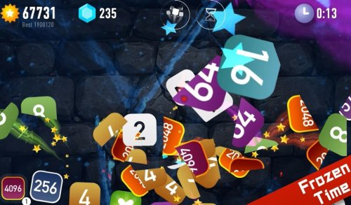 Скриншот для Ninja2048 - 3