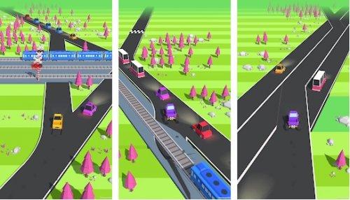 Скриншот для Traffic Run! - 2
