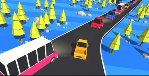 Скриншот для Traffic Run! - 1