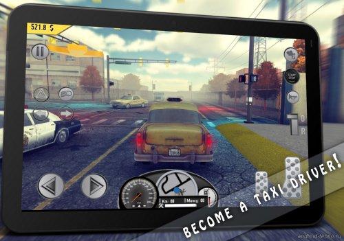 Скриншот для Taxi Simulator 1976 Pro - 1