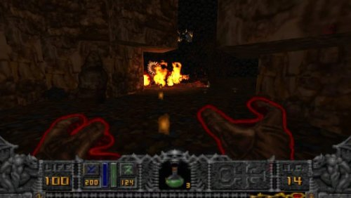 Скриншот для Hexen GLES - 2