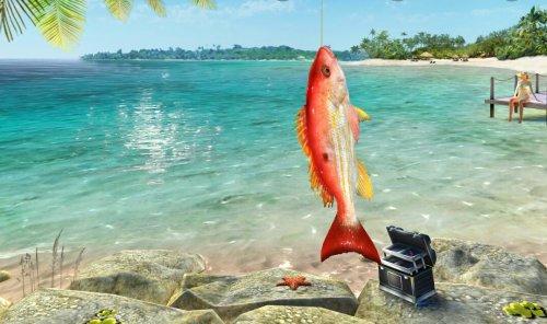 Скриншот для Fishing Clash: Catching Fish Game. Hunting Fish 3D - 2