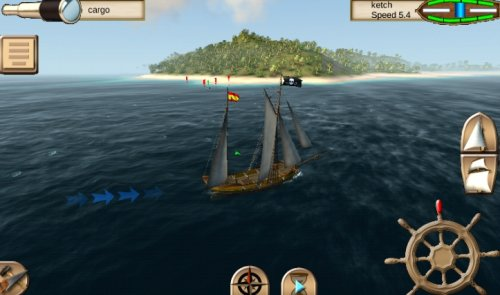Скриншот для The Pirate: Caribbean Hunt - 1