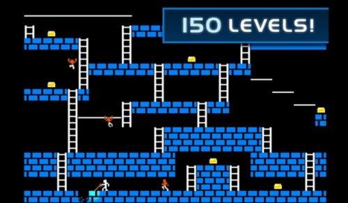 Скриншот для Lode Runner Classic - 1