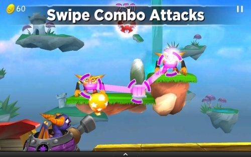 Скриншот для Skylanders Cloud Patrol - 2