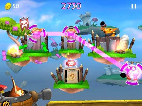 Скриншот для Skylanders Cloud Patrol - 3