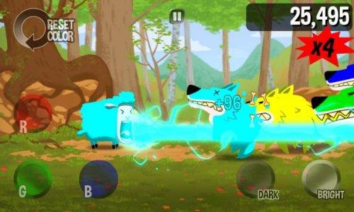 Скриншот для Color Sheep - 2