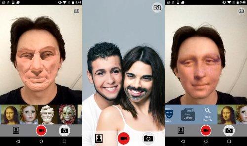 Скриншот для Face Swap - 3