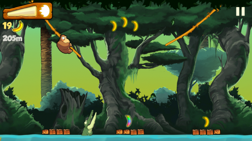 Скриншот для Banana Kong - 2