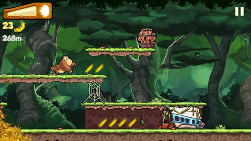 Скриншот для Banana Kong - 1