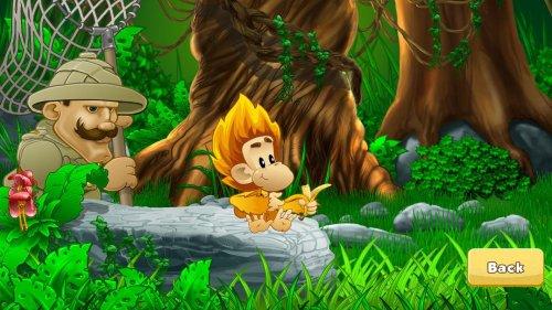 Скриншот для Benji Bananas Adventures - 1
