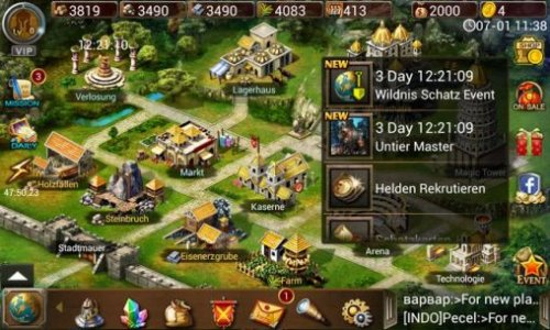 Скриншот для Age of Warring Empire - 1