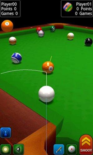 Скриншот для Pool Break Pro - 3D Бильярд - 1