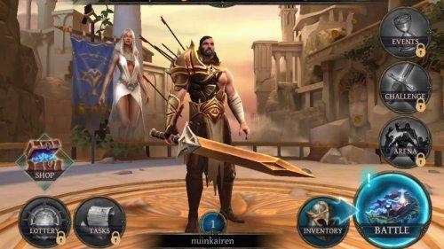 Скриншот для Bladebound: hack'n'slash RPG - 1