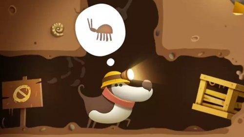 Скриншот для My Diggy Dog - 1