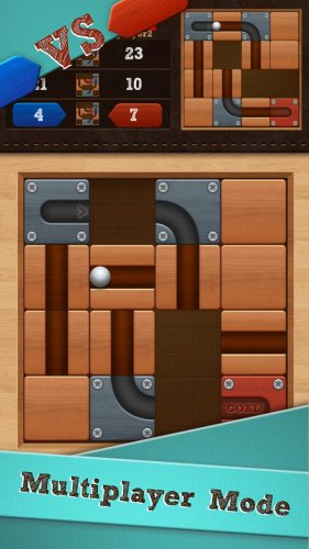 Скриншот для Roll the Ball: slide puzzle - 3