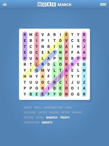 Скриншот для Поиск Слова - Word Search - 1