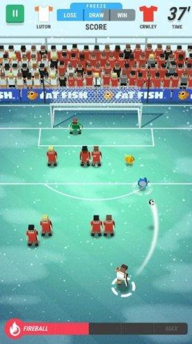 Скриншот для Tiny Striker: World Football - 1
