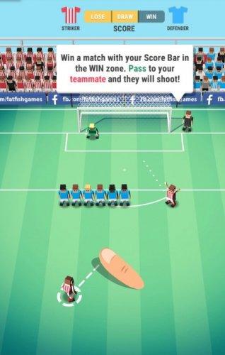 Скриншот для Tiny Striker: World Football - 2