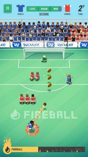 Скриншот для Tiny Striker: World Football - 3