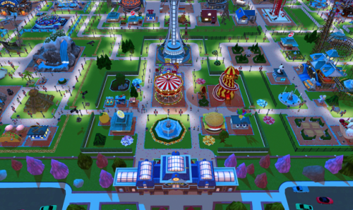 Скриншот для RollerCoaster Tycoon Touch - 3