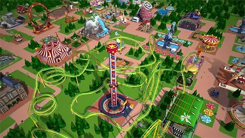 Скриншот для RollerCoaster Tycoon Touch - 1