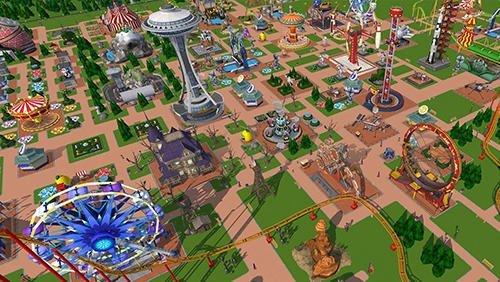 Скриншот для RollerCoaster Tycoon Touch - 2