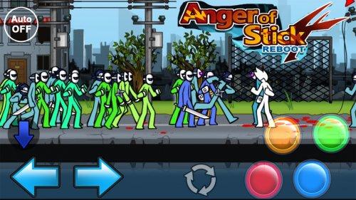 Скриншот для Anger Of Stick 4 - 2