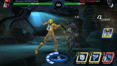 Скриншот для Power Rangers: Legacy Wars - 2