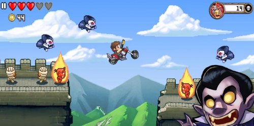 Скриншот для Monster Dash - 2