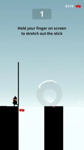 Скриншот для Stick Hero - 1