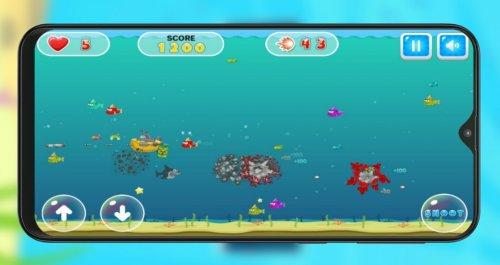 Скриншот для Shark Dash - 2