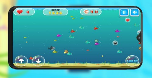 Скриншот для Shark Dash - 1