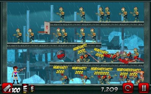 Скриншот для Stupid Zombies 2 - 1